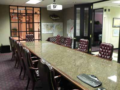 Commercial Boardroom with Audio Video Design and Installation